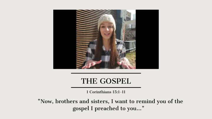 1 Corinthians 15:1-11